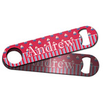 Sail Boats & Stripes Bar Bottle Opener w/ Name or Text