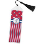 Sail Boats & Stripes Book Mark w/Tassel (Personalized)