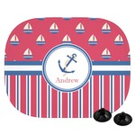 Sail Boats & Stripes Car Side Window Sun Shade (Personalized)