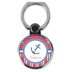 Sail Boats & Stripes Cell Phone Ring Stand & Holder (Personalized)