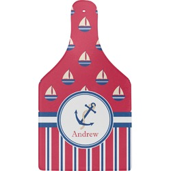Sail Boats & Stripes Cheese Board (Personalized)