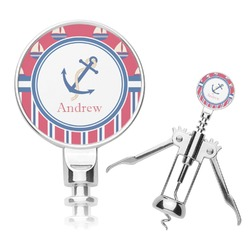 Sail Boats & Stripes Corkscrew (Personalized)