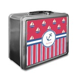Sail Boats & Stripes Lunch Box (Personalized)