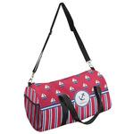 Sail Boats & Stripes Duffel Bag (Personalized)
