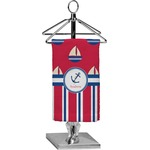 Sail Boats & Stripes Finger Tip Towel - Full Print (Personalized)