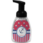Sail Boats & Stripes Foam Soap Dispenser (Personalized)