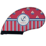 Sail Boats & Stripes Golf Club Cover (Personalized)