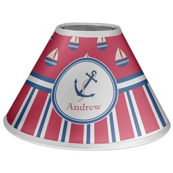 Sail Boats & Stripes Coolie Lamp Shade (Personalized)
