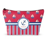 Sail Boats & Stripes Makeup Bags (Personalized)