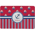 Sail Boats & Stripes Comfort Mat (Personalized)
