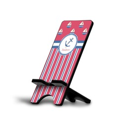 Sail Boats & Stripes Cell Phone Stands (Personalized)