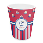 Sail Boats & Stripes Plastic Tumbler 6oz (Personalized)