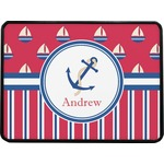 Sail Boats & Stripes Rectangular Trailer Hitch Cover (Personalized)