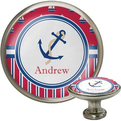 Sail Boats & Stripes Cabinet Knobs (Personalized)