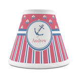 Sail Boats & Stripes Chandelier Lamp Shade (Personalized)