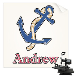 Sail Boats & Stripes Sublimation Transfer (Personalized)