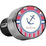 Sail Boats & Stripes USB Car Charger (Personalized)