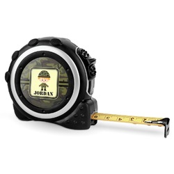 Green Camo Tape Measure - 16 Ft (Personalized)