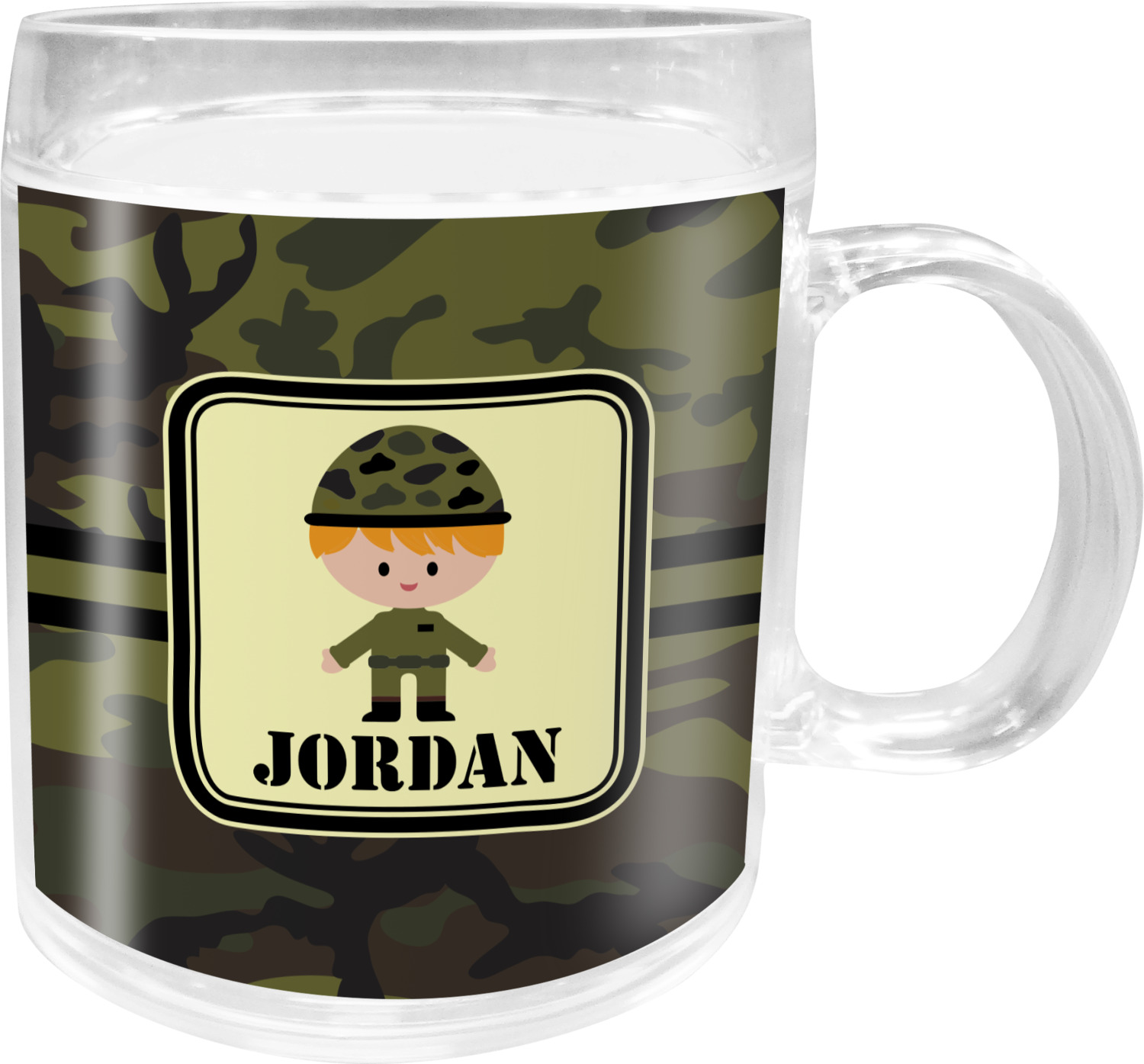 Camo Bedroom Accessories Green Camo Acrylic Kids Mug Personalized Youcustomizeit