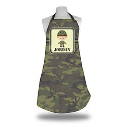 Green Camo Apron (Personalized)