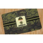 Green Camo Area Rug (Personalized)
