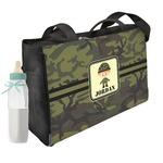 Green Camo Diaper Bag (Personalized)