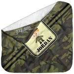 Green Camo Baby Hooded Towel (Personalized)