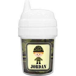 Green Camo Baby Sippy Cup (Personalized)