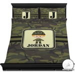 Green Camo Duvet Covers (Personalized)