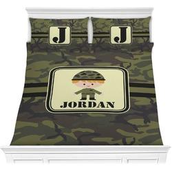 Green Camo Comforter Set (Personalized)