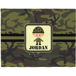Green Camo Placemat (Fabric) (Personalized)