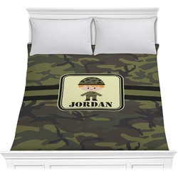 Green Camo Comforter (Personalized)