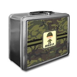 Green Camo Lunch Box (Personalized)