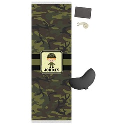Green Camo Yoga Mat (Personalized)