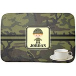 Green Camo Dish Drying Mat (Personalized)