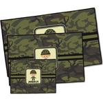 Green Camo Door Mat (Personalized)