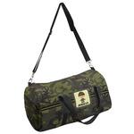 Green Camo Duffel Bag (Personalized)