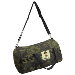 Green Camo Duffel Bag - Multiple Sizes (Personalized)