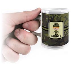 Green Camo Espresso Cups (Personalized)