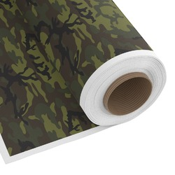 Green Camo Custom Fabric by the Yard (Personalized)