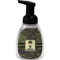 Green Camo Foam Soap Bottle (Personalized)