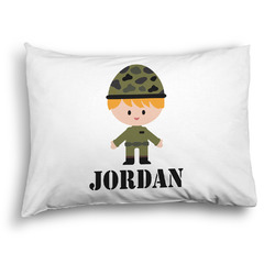 Green Camo Pillow Case - Standard - Graphic (Personalized)