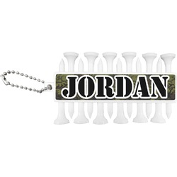 Green Camo Golf Tees & Ball Markers Set (Personalized)