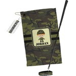 Green Camo Golf Towel Gift Set (Personalized)