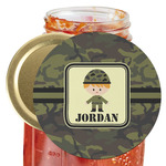 Green Camo Jar Opener (Personalized)