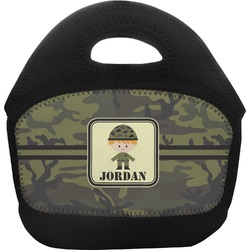 Green Camo Toddler Lunch Tote (Personalized)