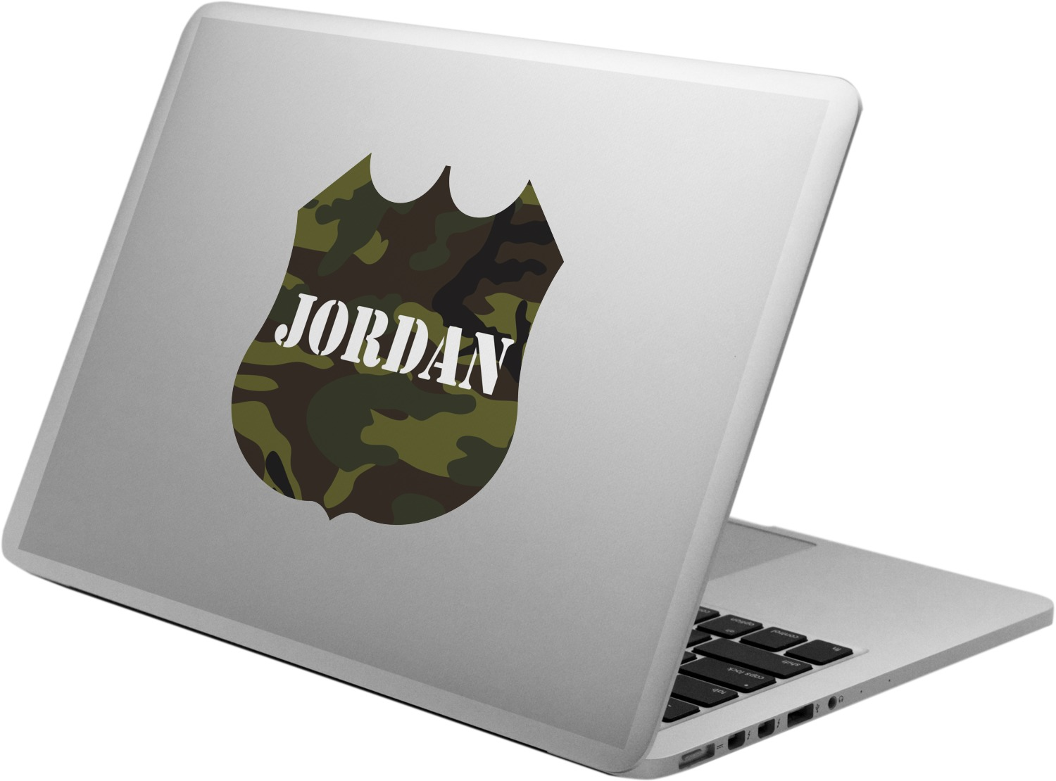 946a4b08aba Green Camo Laptop Decal (Personalized) - YouCustomizeIt