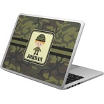 Green Camo Laptop Skin - Custom Sized (Personalized)