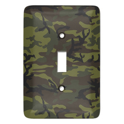 Green Camo Light Switch Covers - Multiple Toggle Options Available (Personalized)
