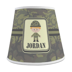 Green Camo Empire Lamp Shade (Personalized)